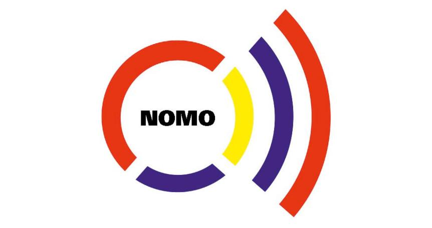 Logoen til NOMO - et verktøy til å måle nytte av forflytningshjelpemidler