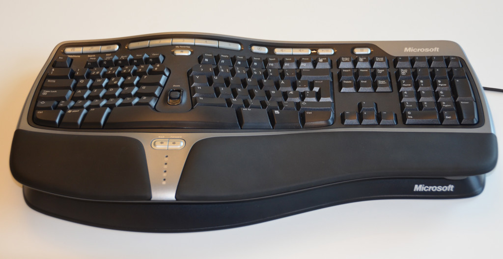Ergonomisk tastatur