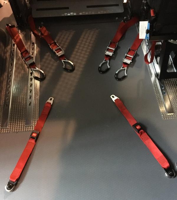 6-punkts stroppefestekit til rullestol (Foto: T Fjellvang)