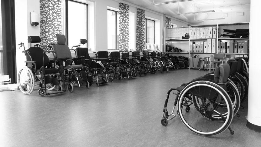Manuelle rullestoler utstilt på NAV Hjelpemiddelsentral Oslo og Akershus