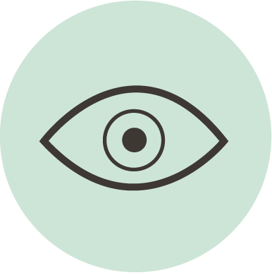 Illustrasjon av et øye