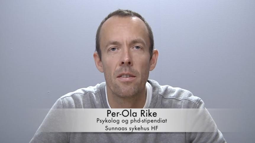 Psykolog Per-Ola Rike
