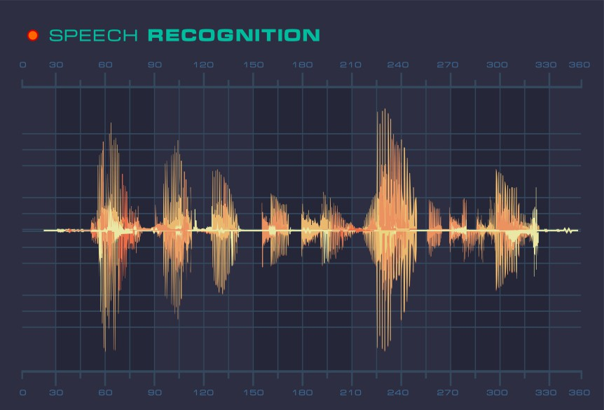 Diagram med lydbølge (Foto: colourbox.com)