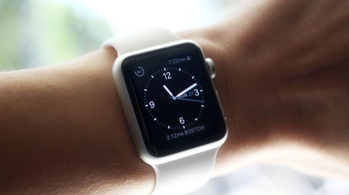 Apple Watch på håndledd