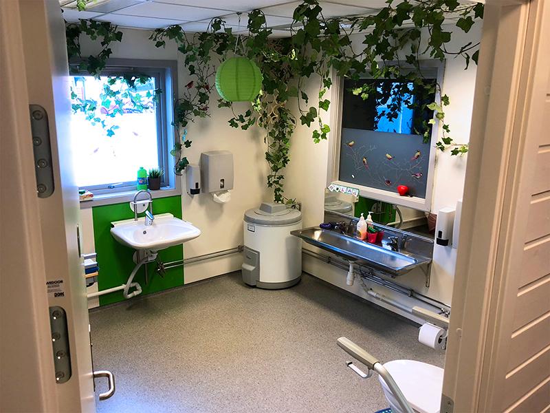 Stellerommet i Hammerfestgata barnehage