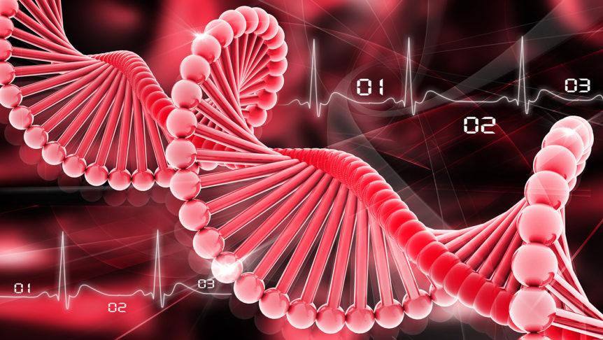 Illustrasjon av DNA (Foto: colourbox.com)