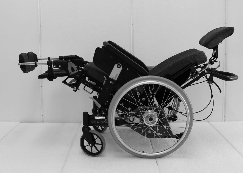 Cirrus manuell rullestol tiltet bakover
