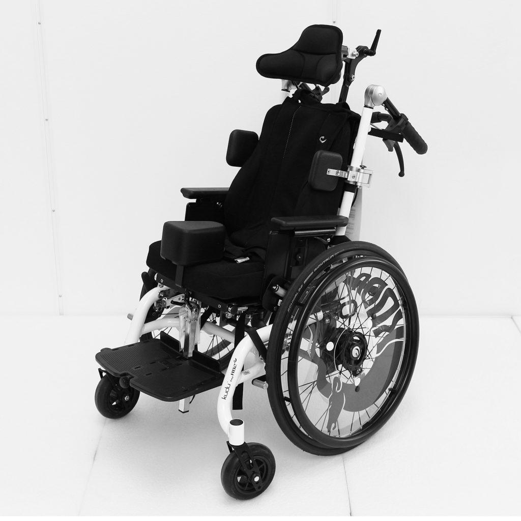 Kudo manuell rullestol for barn