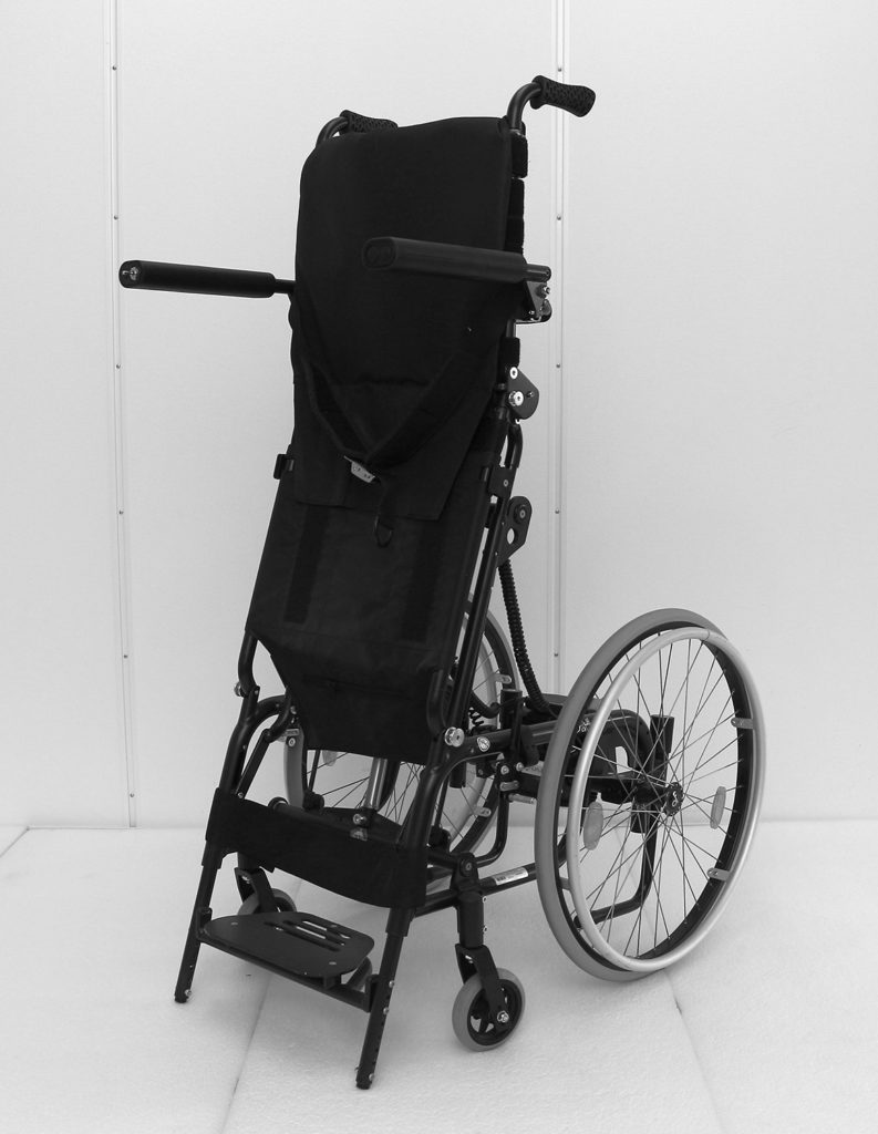 Levo manuell rullestol stående