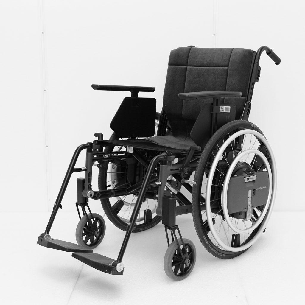 Wheeldrive drivhjul med elektrisk motor
