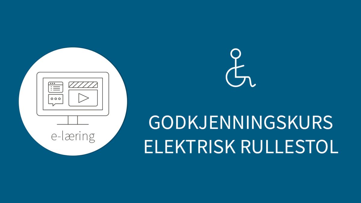 Ingressbilde godkjenningskurs elektrisk rullestol