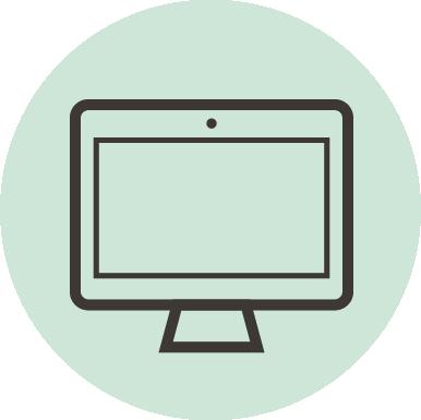 Ikon: dataskjerm