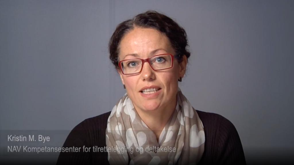 Kristin Meås Bye holder foredrag om kognitive utfordringer