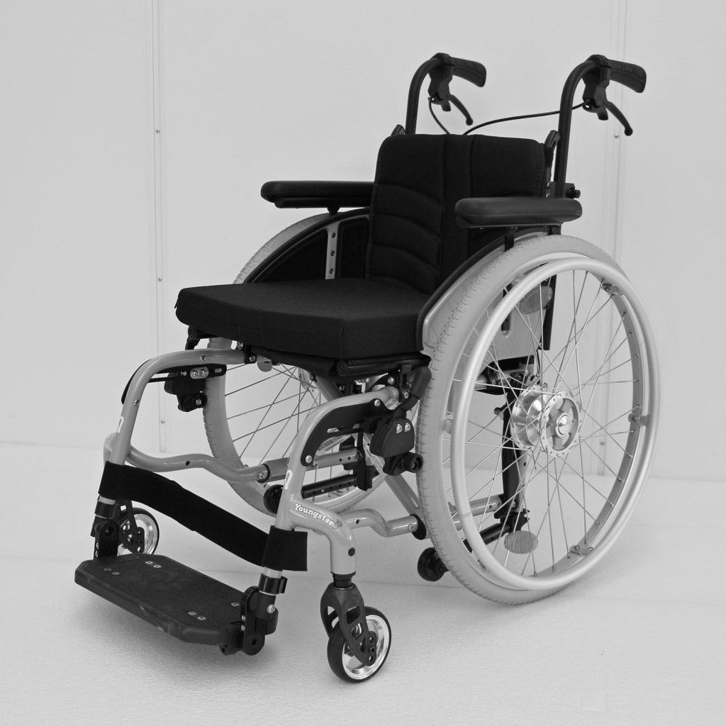 Allround rullestol for barn