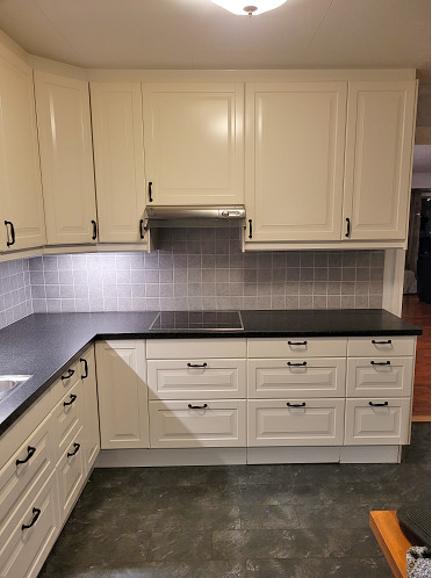 Eksempel kjøkken - platetopp