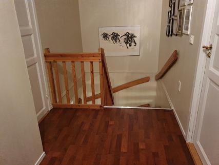 Eksempel trappeheis - avstandsbilde